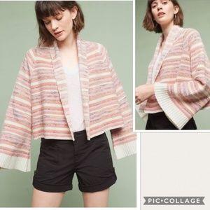 Anthropologie Moth Mahalia Knit Kimono Cardigan XS